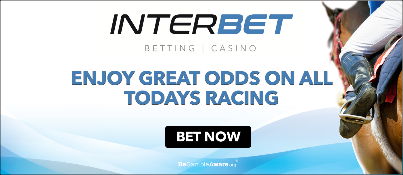 Interbet. Great odds on all today's racing.